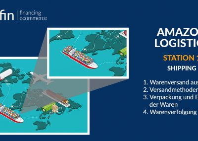 Amazon Logistics Station 1: Shipping to Amazon FBA Warehouse.