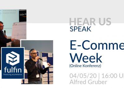 News: Hear us speak! (May)