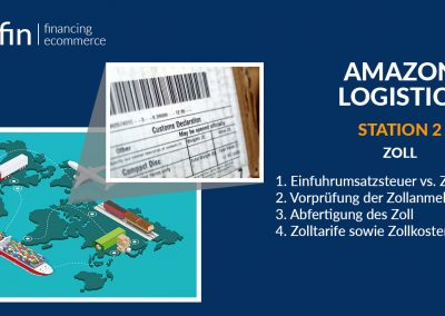 Amazon Logistics Station 2: Customs