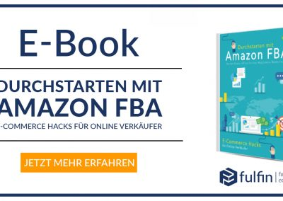 """News: E-Book """"Getting Started with Amazon FBA"""""""