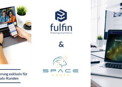 fulfin funding exclusive to Spacegoats customers.