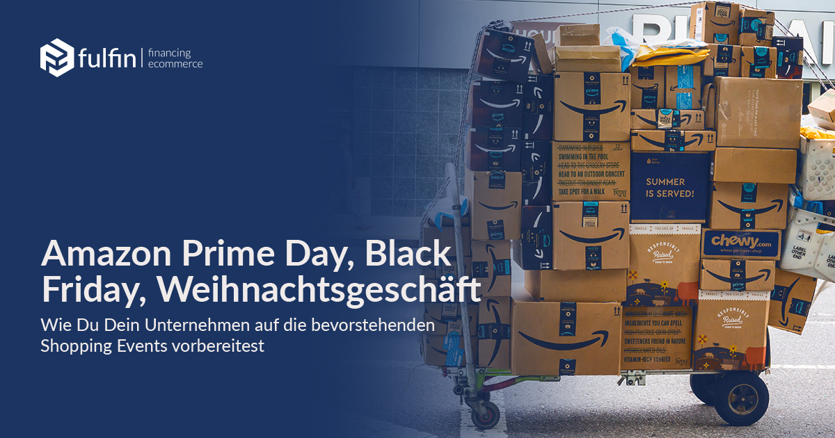 Optimal preparation for shopping events such as Amazon Prime Day, Black Friday & Christmas sales