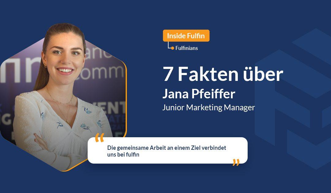 fulfinians in focus: Jana Pfeiffer