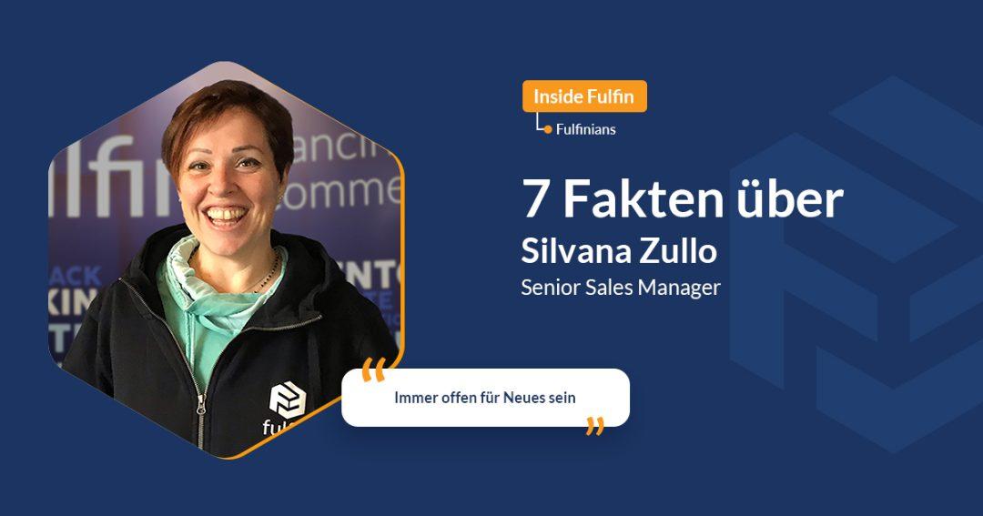 Bild mit Silvana mit Bild von Silvana lächelnd