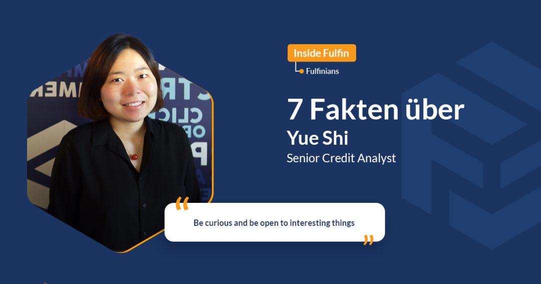 Yue Sui Blog Cover mit lächelndem Gesicht