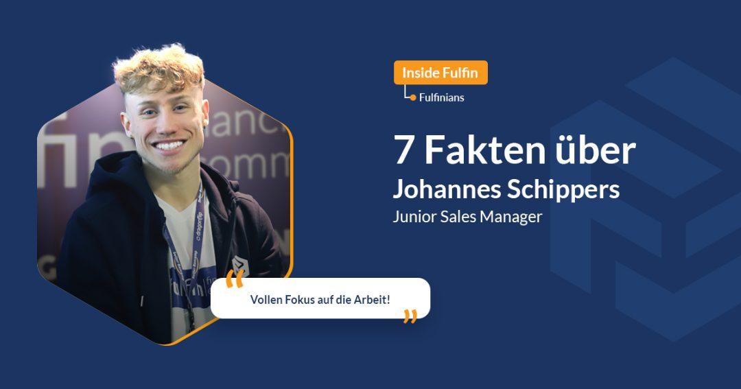 Johannes Blog Cover mit lächelndem Foto