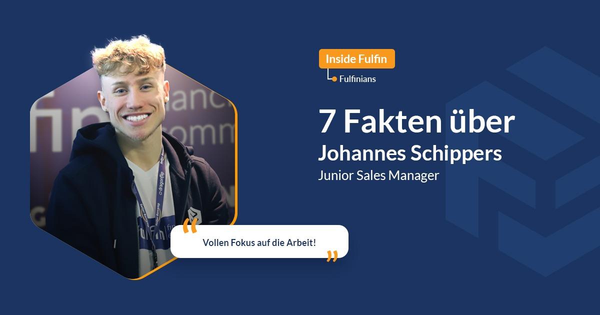 fulfinians in focus: Johannes Schippers