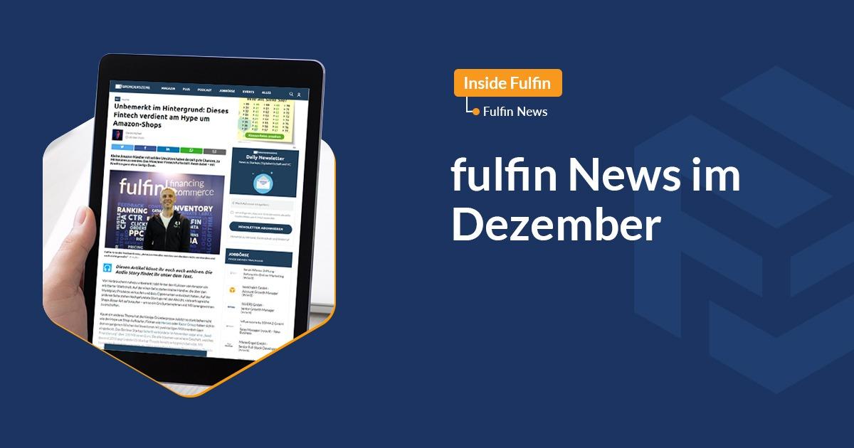 fulfin News im Dezember