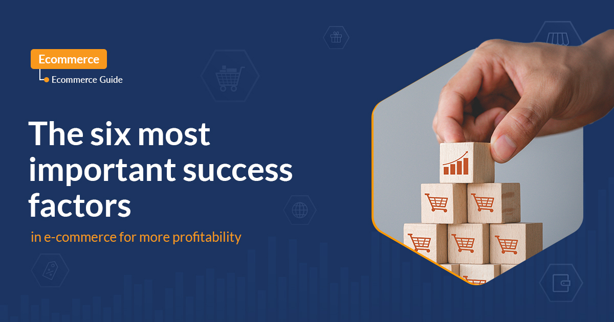 The six most important success factors in e-commerce for more profitability