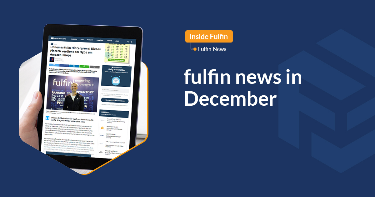 fulfin news in December