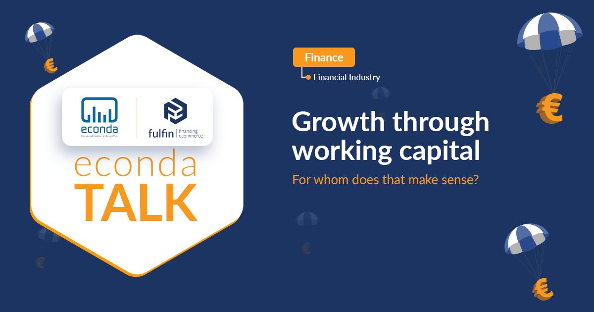 econda x fulfin Talk about working capital