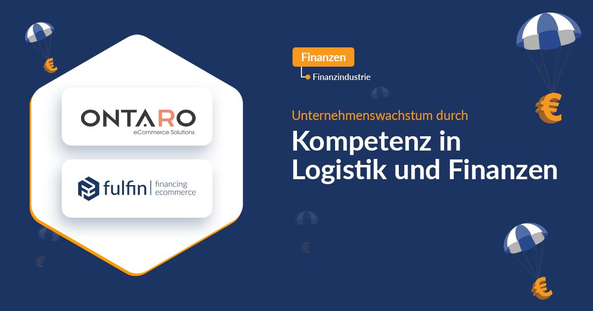 News: fulfin kooperiert mit der ONTARO GmbH, um weitere E-Commerce Lösungen für Einkaufsfinanzierungen bereitzustellen