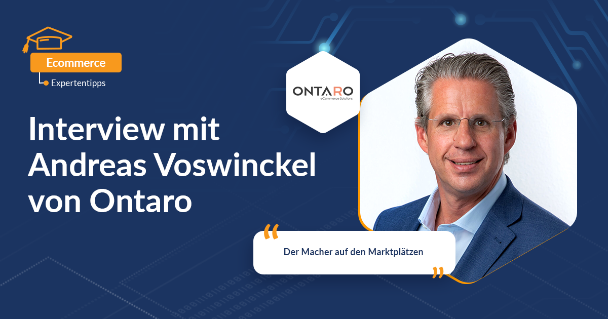 Interview mit Andreas Voswinckel von ONTARO